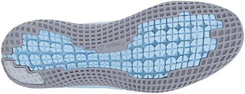 Reebok Womens Print Run Scarpa Pista Ultk Track, Bianco / Teschio Grigio / Torsione Pesca / Acciaio, 9 B (m) Ci Nuvola Grigio / Grigio Meteorite / Blu Fresco