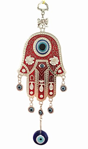 Blue Evil Eye Hanging Decor Ornament for Protection (With a Betterdecor Pouch)-001