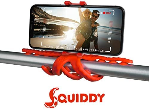 Celly Squiddy tripode Smartphone/Action Camera 6 Pata(s) Rojo ...