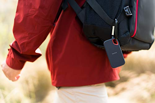 SanDisk 1TB Extreme Portable External SSD  USBC USB 31  SDSSDE601T00G25