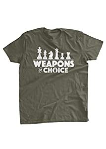 BumpCovers Weapons Of Choice Chess Set T-shirt