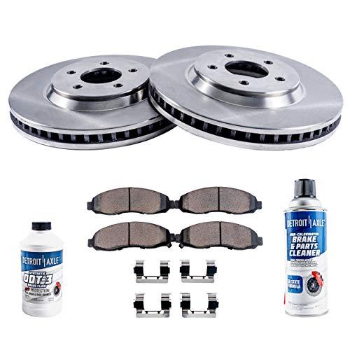 Rear Replacement Brake Rotors Disc and Ceramic Pads Cutlass Supreme,Grand Prix