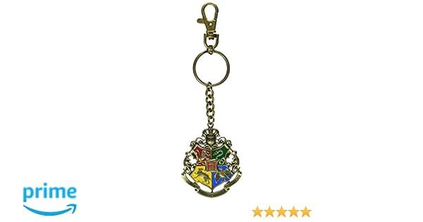 Harry Potter Llavero metálico Hogwarts 5 cm