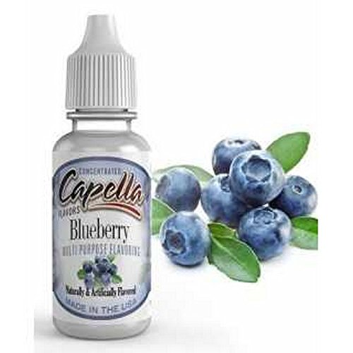 Capella Flavor Drops Blueberry Concentrate 13ml (Best Vapes For Clouds Cheap)