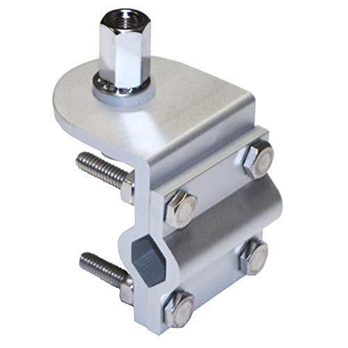 Double Groove Mirror Mount With SO-239 Stud Connector ()