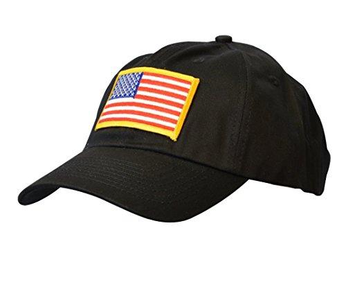 KC Caps Unisex Polo Style American Flag Baseball Cap USA Hat Patriotic (Polo Snapback Hats)