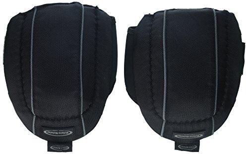 McGuire-Nicholas 22377-3 Non Marring Knee Pads, Black/Gray