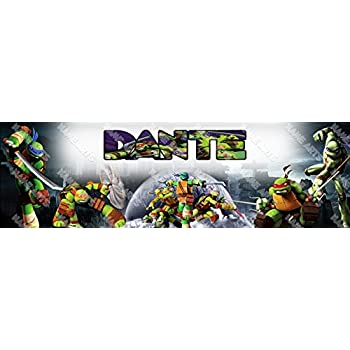 Amazon.com: Personalized TMNT Teenage Mutant Ninja Turtles ...