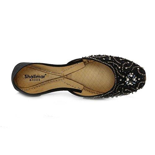 Donna con Zeppa Shoes Nero Sandali Shalimar xSv4wqpgn
