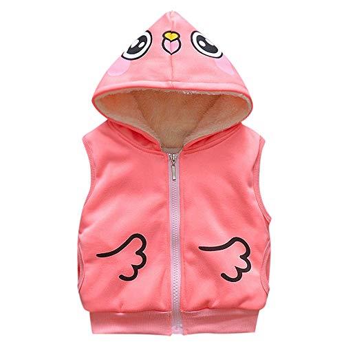 Baby Cartoon Vest Coat, Naladoo Toddler Infant