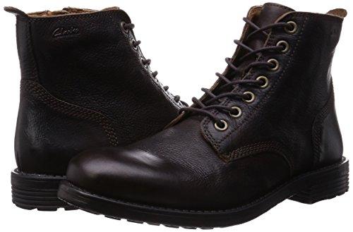 Stivali Stivali Walnut Faulkner Uomo Clarks Rise Rise Rise Leather Marrone da Classici 0qppvwxE