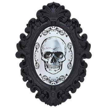 Halloween Mirror Door/Wall Decoration: Skeleton (13 Nights Of Halloween Movie List)