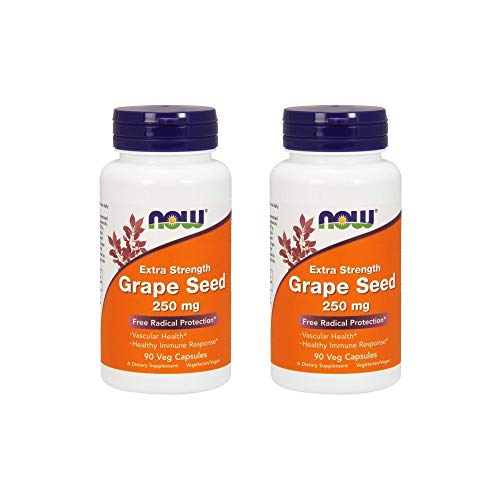 NOW Foods Grape Seed Extract 250mg, 90 Vcaps