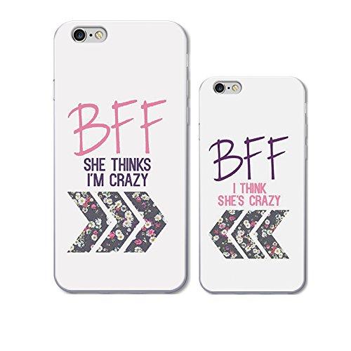 amazon com iphone6plus 6s case for best friend ttott cute clear