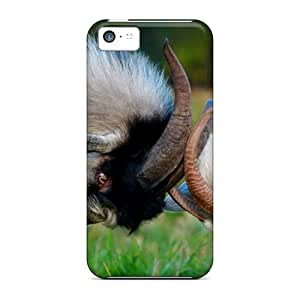 StaceyBudden Perfect Cases For Iphone 5c/ Anti-scratch Protector Cases (domestic Goats Eastern Europe)