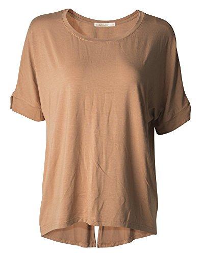 kalvon-fu-womens-round-neck-casual-short-sleeve-tees-tops-blouse-t-shirt-m-camel