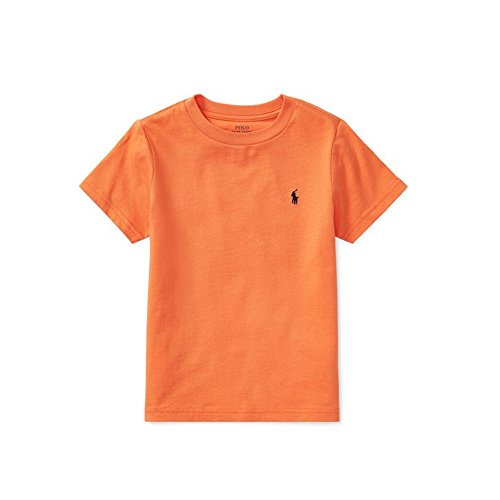 Polo Ralph Lauren Baby Boy's Short Sleeve Crewneck Tee, 24 Months, Bedford Orange