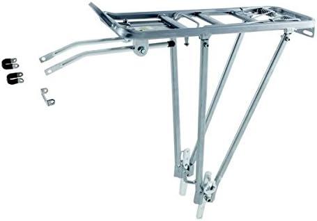 Moma - Portabultos Aluminio, Color Plata, válido para Bicicletas ...