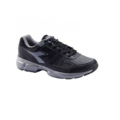 Diadora Scarpe Unisex Sneakers Shape 8 SL In Pelle Nera 101172057-01-C3556