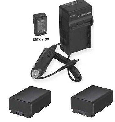 2電池+充電器for Samsung hmx-f530rn、SAMSUNG hmx-f530sn、SAMSUNG hmxf530bn、SAMSUNG hmx-f530sn/XAA B01DNAA7PQ