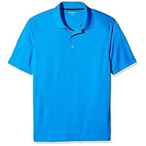 Amazon Essentials Men's Regular-Fit Quick-Dry Golf Polo Shirt, Electric Blue, XX-Large