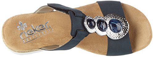 Rieker womens Slipper pacific Blue (Pazifik / 14) MezXCzCxkJ