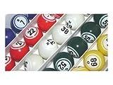 Bingo Balls - Multi Color Inside Print