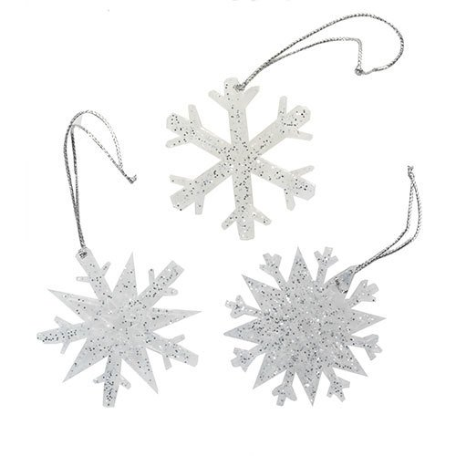 Yankee Candle Christmas Scented Snowflakes Sparkling Snow Ne