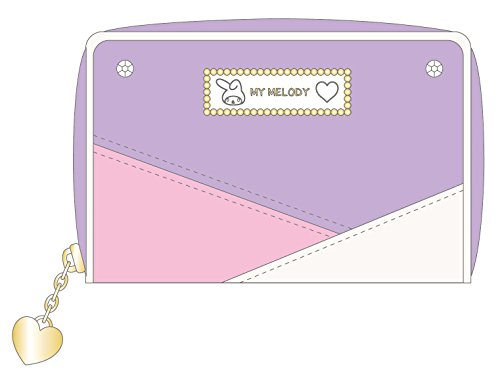 My Melody 3 color scheme series coin case Purple ()