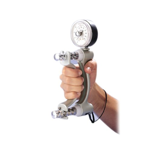 Strength Tester - Fabrication 12-0600 Fabrication Jamar Hydraulic Hand Dynamometer, 200 Pound