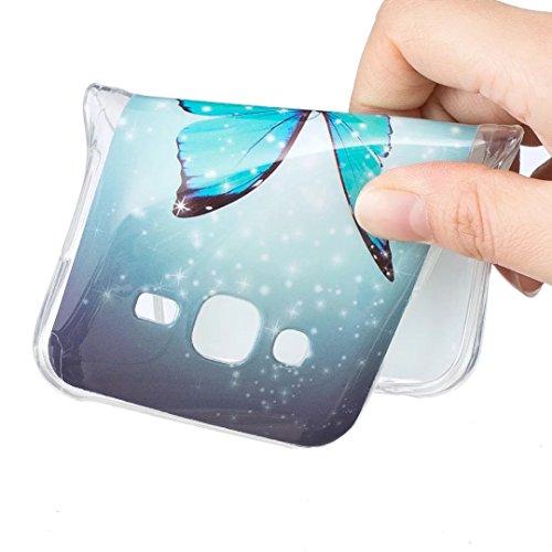 Vandot Funda Luminosa de Silicona Caucho Gel para Samsung Galaxy Grand Prime SM-G530 G530H G5308W Soft TPU Silicone Case Cover Carcasa Protectora 3D Pintado Patrón Funda Blanda Suave Flexible Caja Del Light2 -7