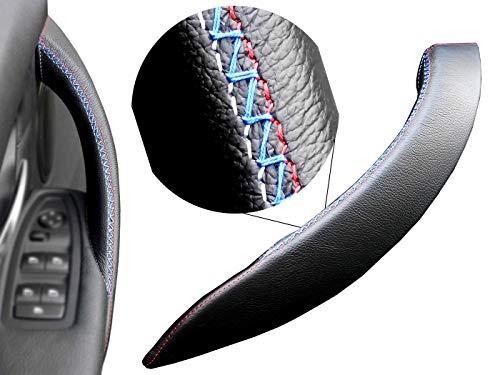 Door handle cover Series 3 316d, 318d, 320i, 3XX i/d F30 / F31 / F34 (left, black leather M Sport) ()