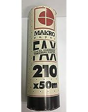 ROLLO DE PAPEL TÉRMICO PARA FAX 210 X 50 M