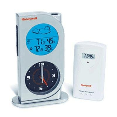 Honeywell TC682ELW Dual View Wireless Digital Weather Station with Analog Quartz Clock (Discontinued by Manufacturer)