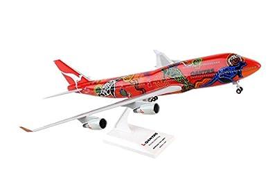 Daron Worldwide Trading SKR406 Skymarks Qantas 747-400 1/200 Wunala Dreaming Ii W Model Kit