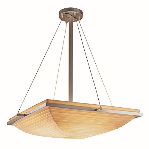 Justice Design Group Lighting PNA-9792-25-SAWT-NCKL-LED5-5000 Porcelina-Ring 27