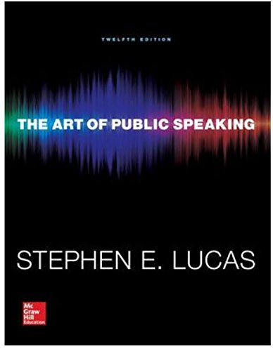 [The Art of Public Speaking 12th edition](9780073523910)(0073523917)