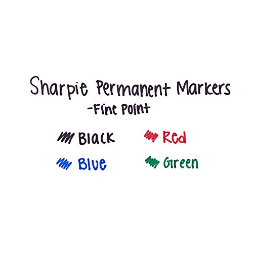 Sharpie Extreme Permanent Markers, Black, 4-Count by Sharpie (Image #4)