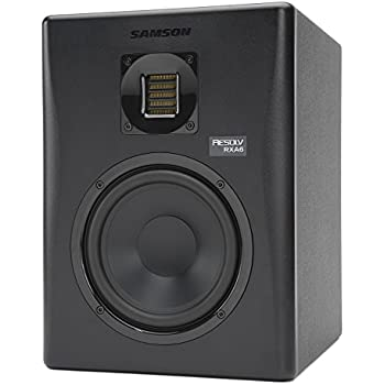 samson resolv rxa6 2 way active studio reference monitor with air displacement. Black Bedroom Furniture Sets. Home Design Ideas