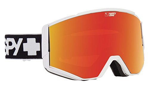 Spy Optic Ace 310071396379 Snow Goggles, One Size (Matte White Frame/Bronze Red Blue Lens) (Red Bag Spy)