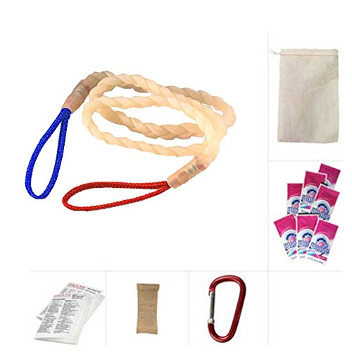 Going In Style Travel Clothesline, Carabiner and 7 Woolite L