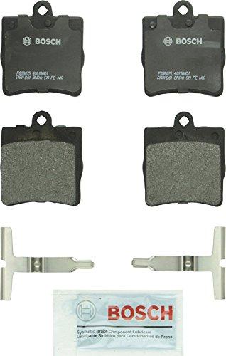 Bosch BP779 QuietCast Premium Semi-Metallic Disc Brake Pad Set For Select Chrysler Crossfire; Mercedes-Benz C200, C230, C240, C280, CL200, CL230, SLK230, SLK280, SLK300, SLK320; Rear