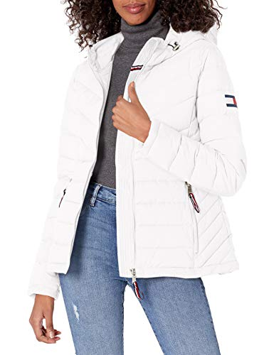 Tommy Hilfiger womens Stretch Packable Hooded Jacket