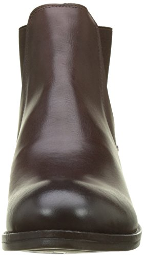 Brown Chocolate Alls076fly Boots Dk Brown Fly Women's Chelsea London Hg6110qp