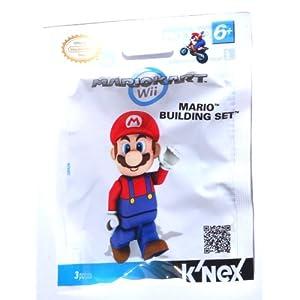 K'nex TOY2A Mario Kart Wii Figure - Mario LEGO
