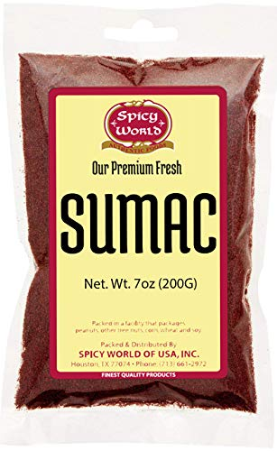 Spicy World Sumac 7oz - (Ground Sumak - Fresh Homemade Sausage