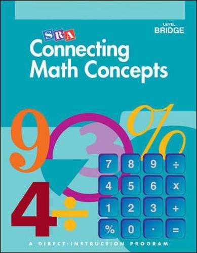 Connecting Math Concepts, Answer Key, Level Bridge -  engelmann, 3rd Edition, Paperback