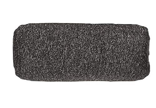 1InTheOffice Keyboard Wrist Rest, Beaded Add-A-Pad Ergobeads, Black