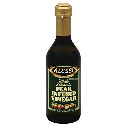 Alessi White Wine Vinegar - Alessi Vinegar Balsamic Pear, 8.5 oz