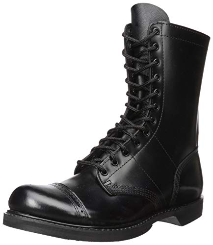 - Corcoran Men's 10 Inch Side Zipper Jump Boot-M, Black, 11.5 M US